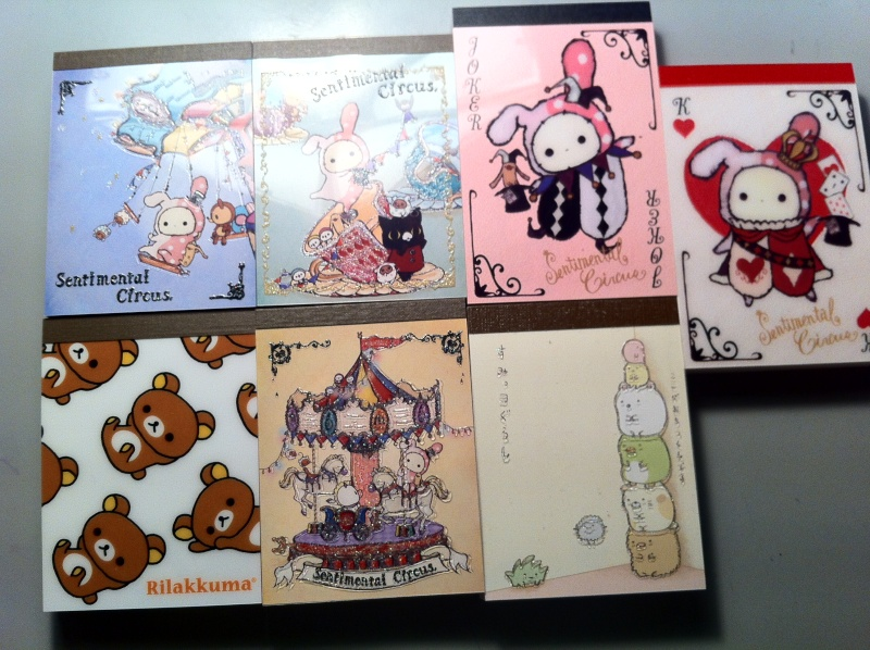 [Seller] Jizzoka's UPDATE! Sticker Flakes, Memo pads and other stuff! Img_0410