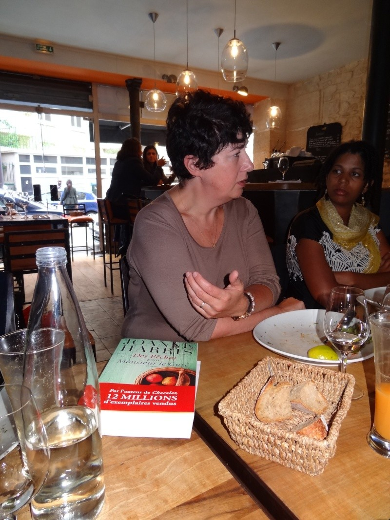 Rencontre avec Joanne Harris, Jeudi 12 septembre 2013 Dsc03712