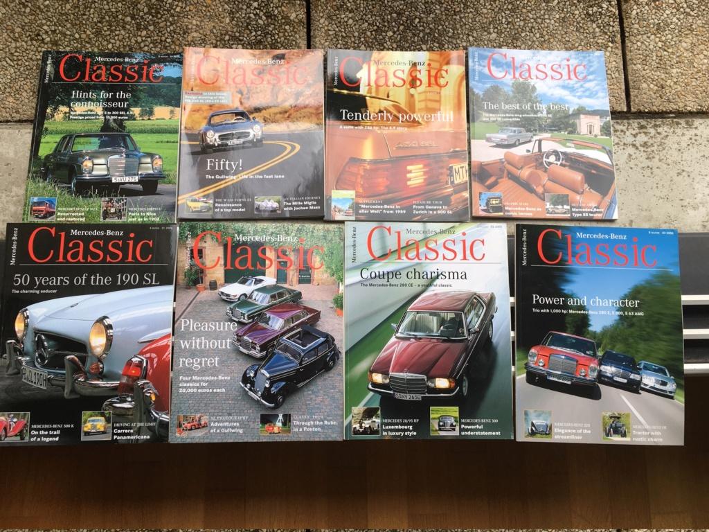 """Lot de 8 magazines """"Mercedes classic"""" en Anglais Img_3311"""