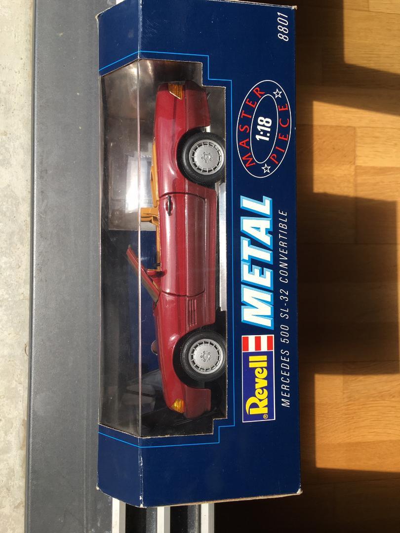 500SL 1/18 Revell Rev310