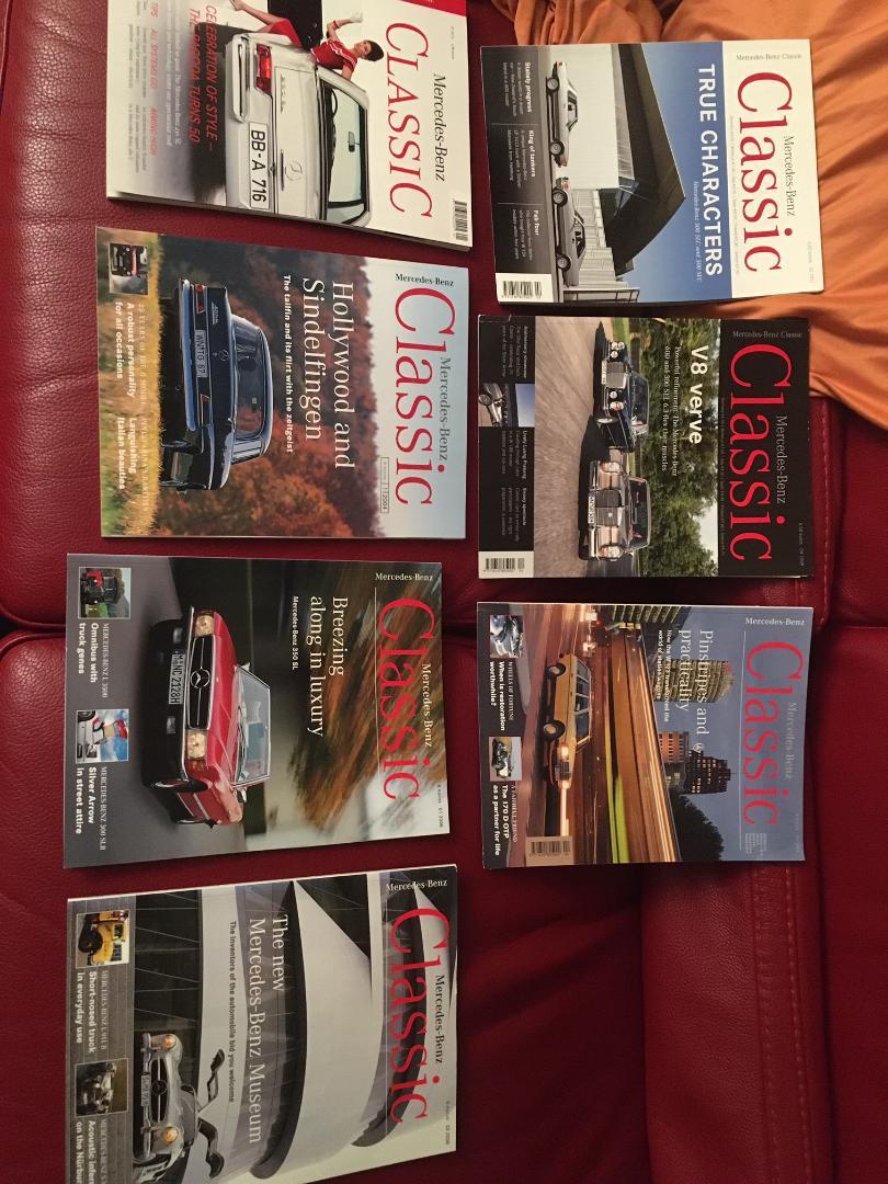 """Lot de 8 magazines """"Mercedes classic"""" en Anglais Thumbn10"""