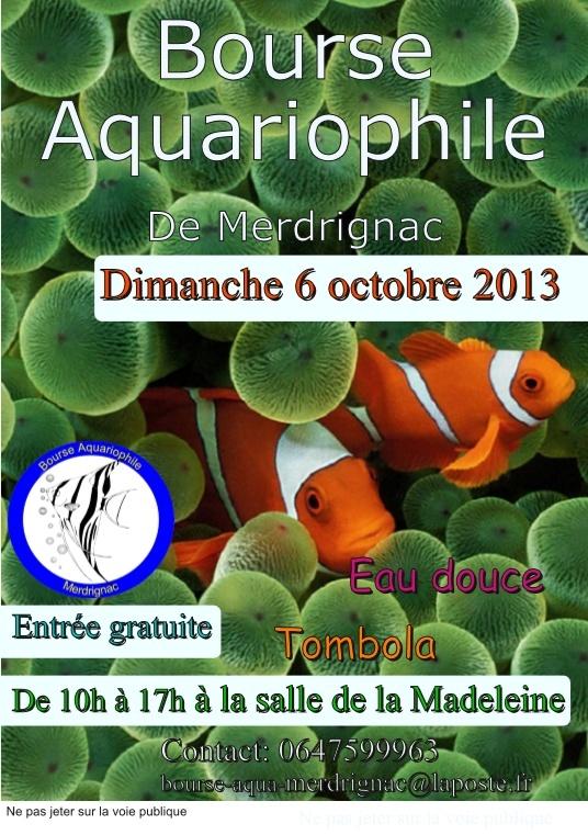 Bourse aquario eau douce (06.10.2013) Merdrignac Affich10