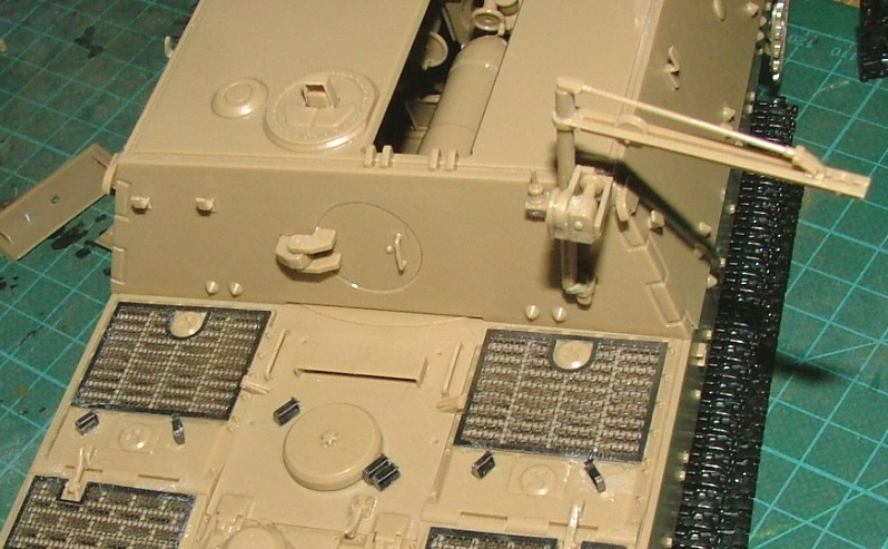 STURMTIGER [ TAMIYA 177 ] +Photodécoupe [ EDUARD 35381 & 35366]  (Montage en cours) - Page 2 Dscf0618