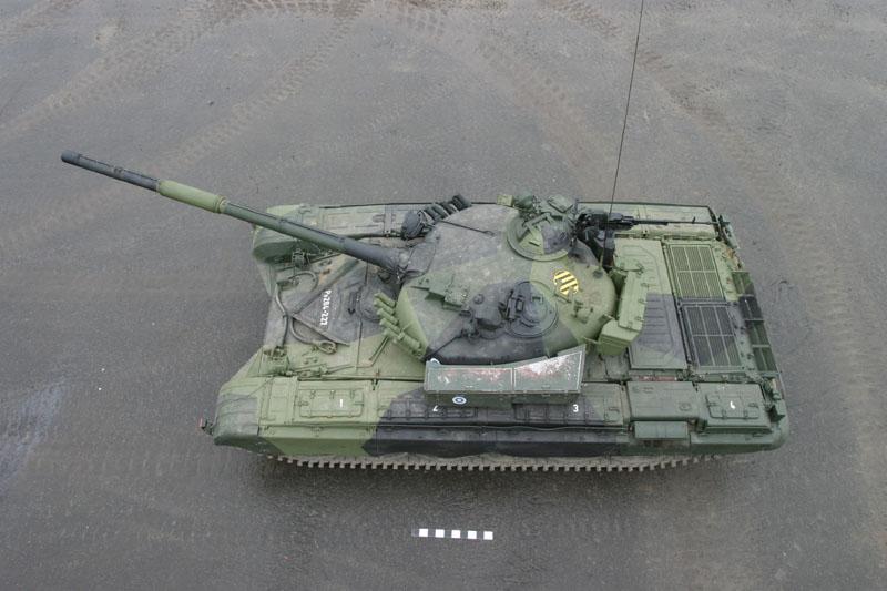 T-72A finlandais - Zvezda 1/35 T-72m111