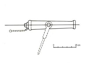 Le Machault, projet de poste de combat avec pierriers Sablet10