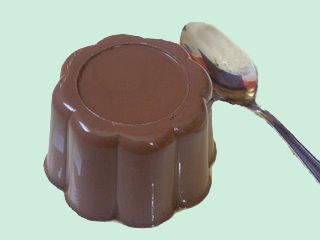 L : crème chocolat agar agar (style danette ) Flans-10