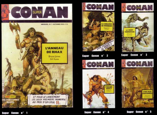 La totale sur Conan et ses derivés Super-11