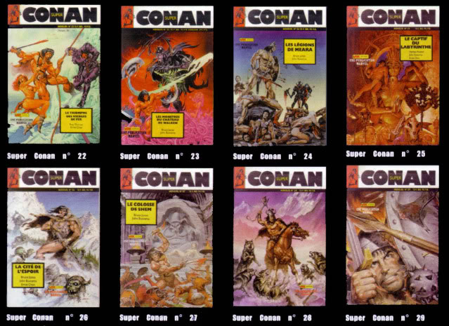 La totale sur Conan et ses derivés Super-14