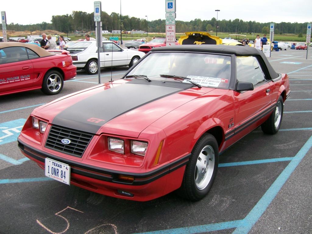 1984 GT Convertible avec 1850 miles d'origine! 100_3311