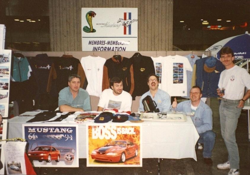 Montréal Mustang dans le temps! 1981 à aujourd'hui (Histoire en photos) - Page 6 1995-110