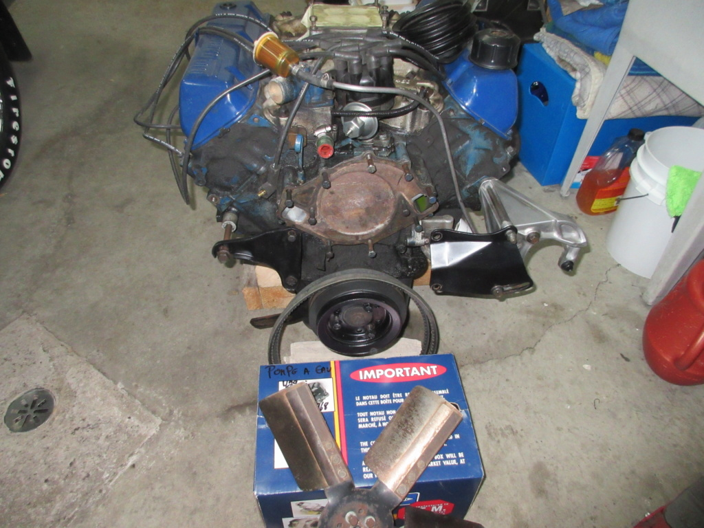 2 moteurs Ford 429 Thunderjet 1970 et 1971 (Les 2, VENDU) 2018-017
