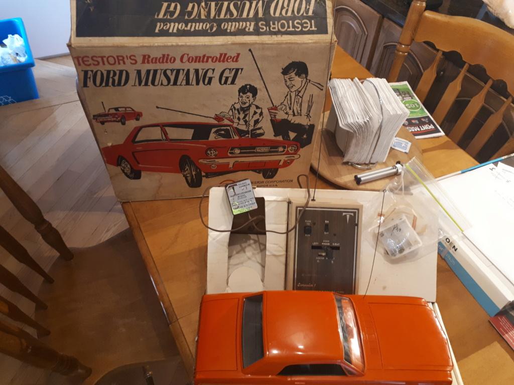 Jouet: Mustang coupe1966 par AMF Wen-Mac 2019-016