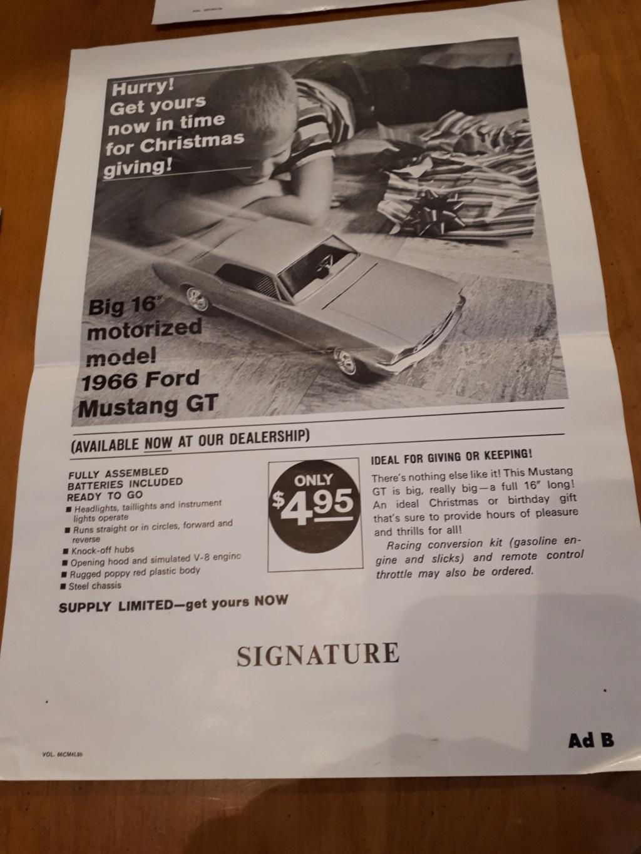 Jouet: Mustang coupe1966 par AMF Wen-Mac 2019-018