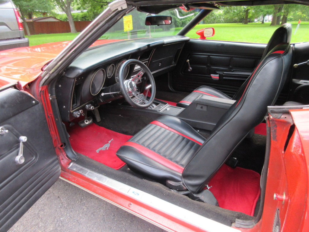 Mustang 1972 Convertible à vendre-VENDU 2019-025