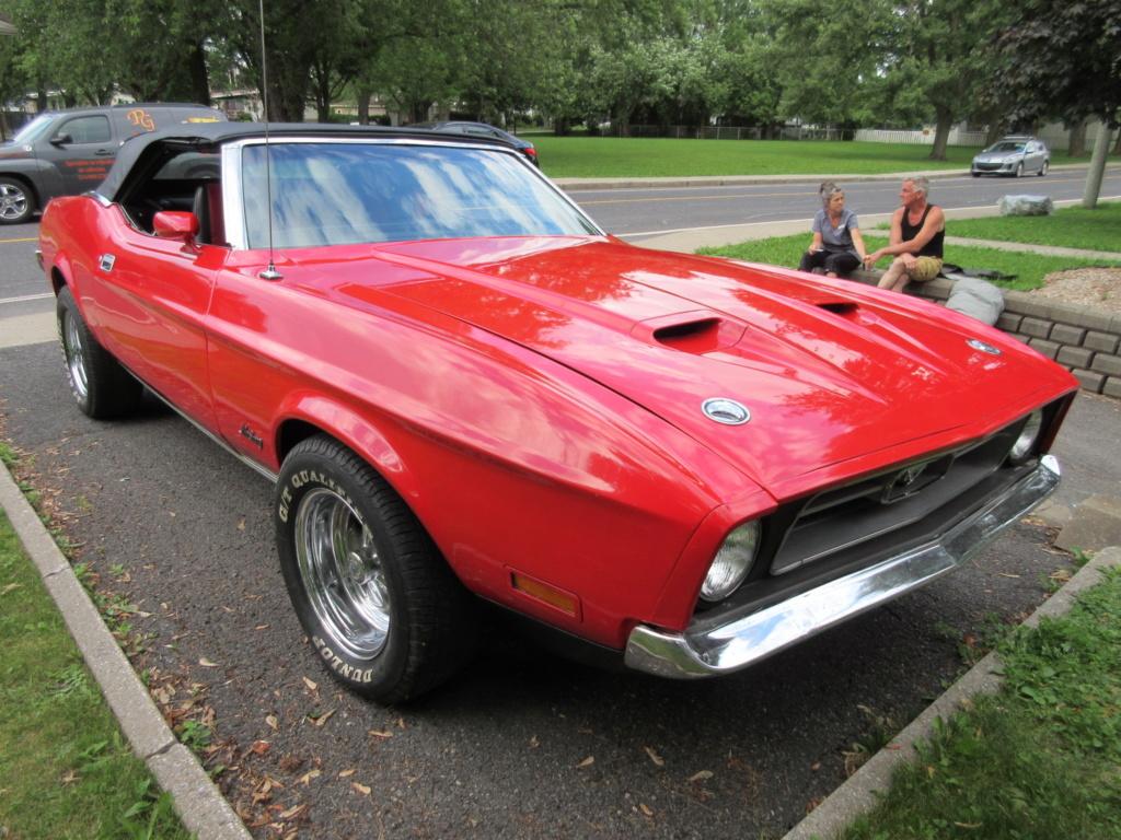 Mustang 1972 Convertible à vendre-VENDU 2019-028