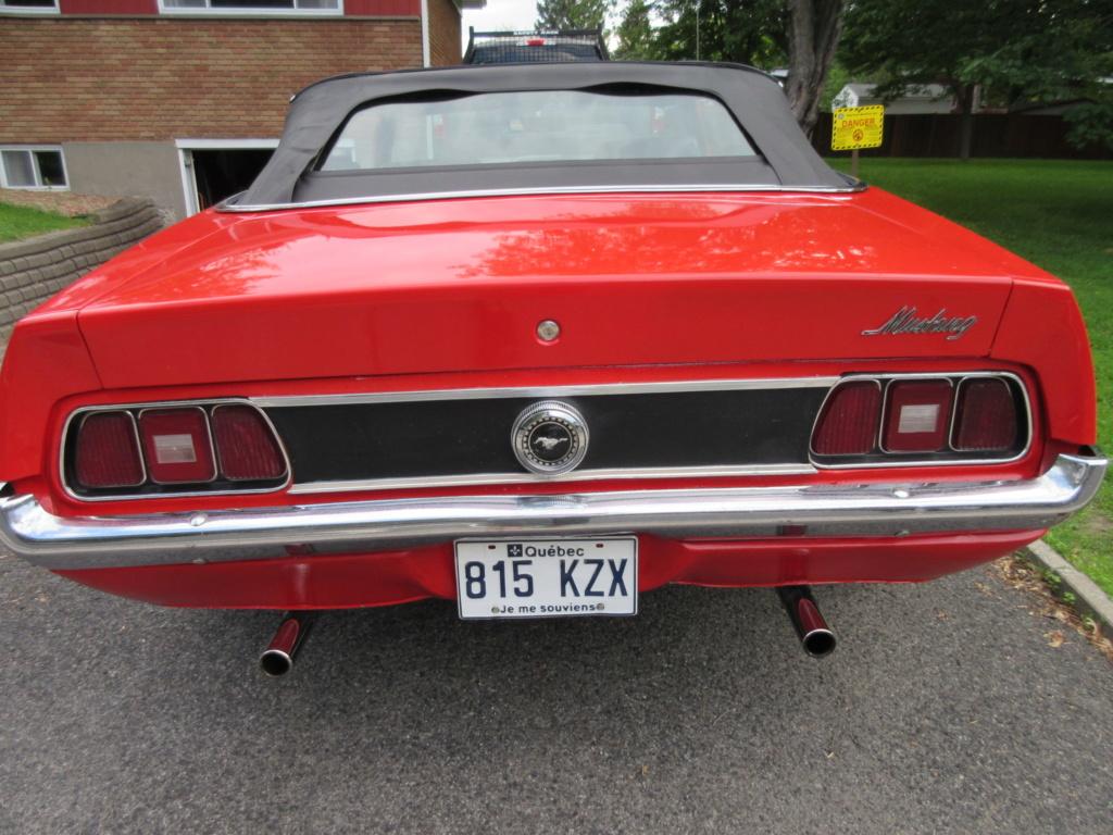Mustang 1972 Convertible à vendre-VENDU 2019-029