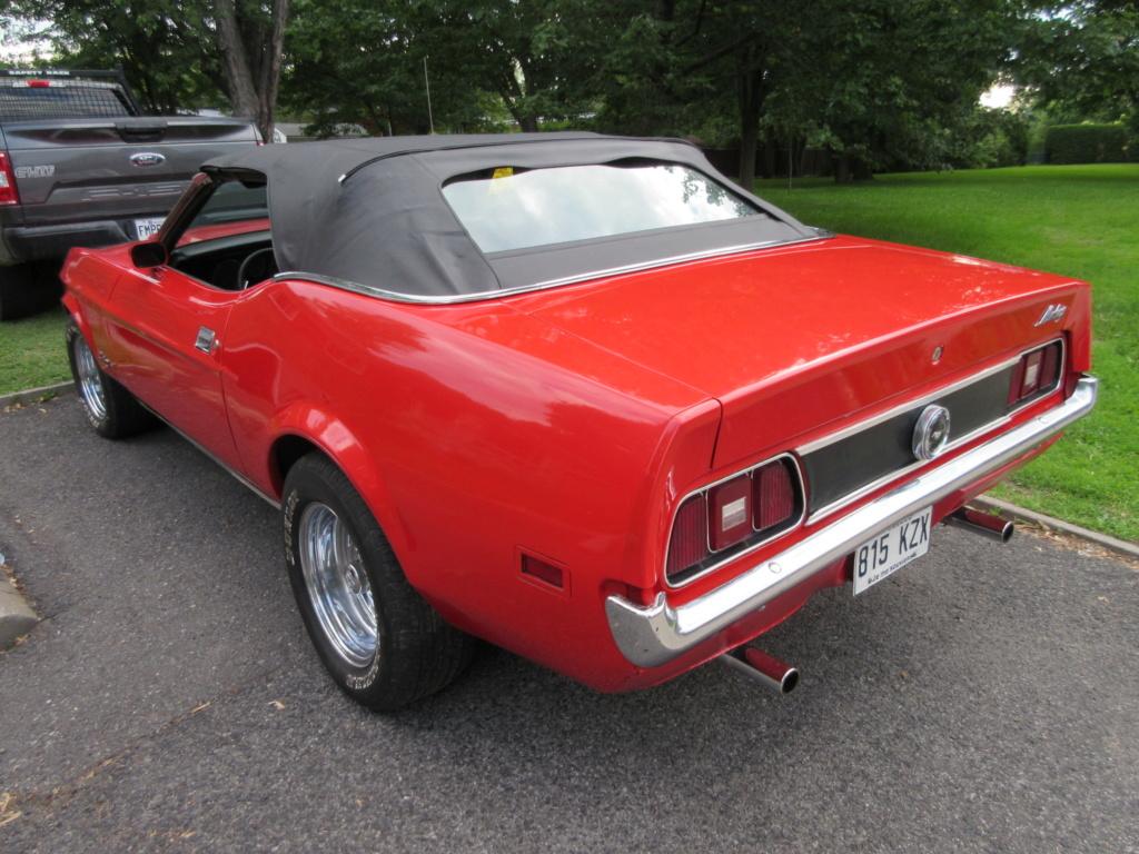 Mustang 1972 Convertible à vendre-VENDU 2019-031