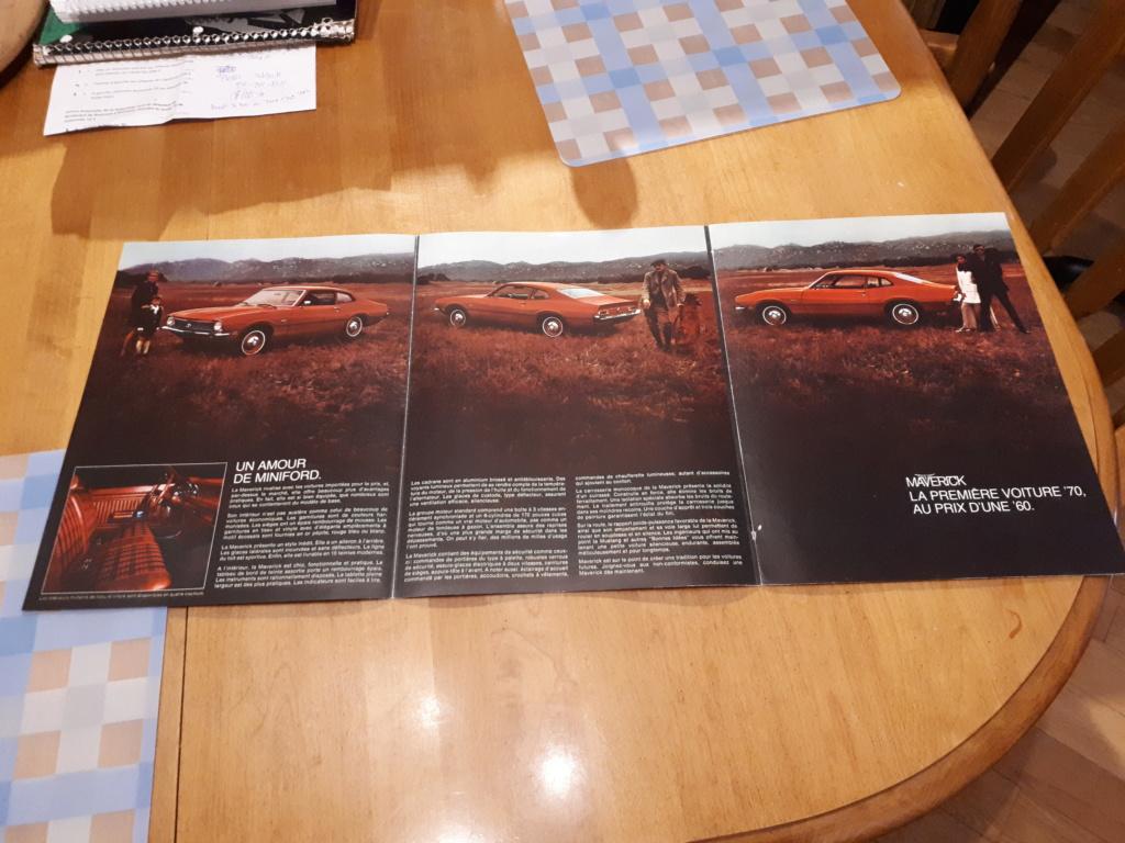 A vendre-Brochures / Pamphlets automobiles années de 1962 à 2020 20191211