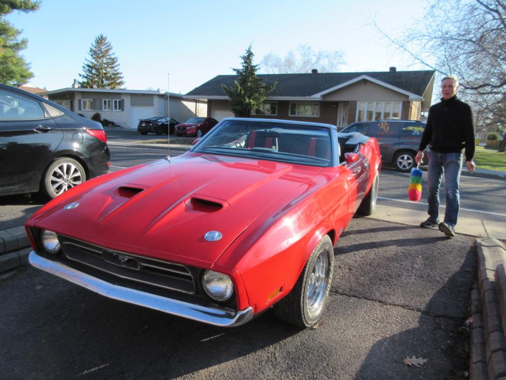Mustang 1972 Convertible à vendre-VENDU 2020-020