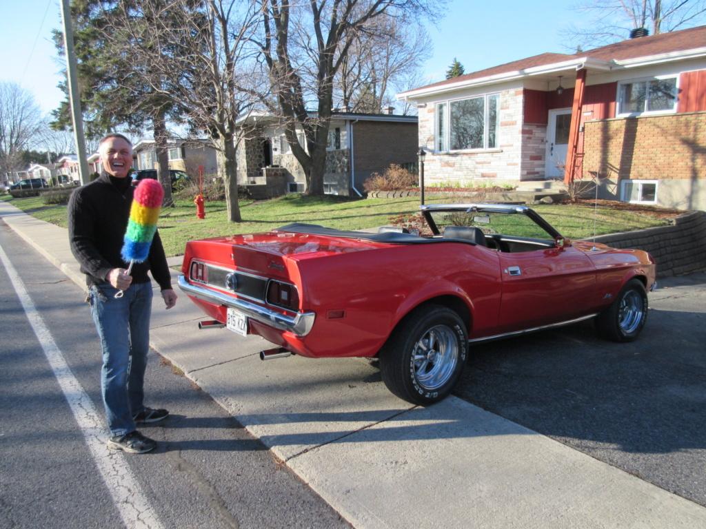 Mustang 1972 Convertible à vendre-VENDU 2020-021