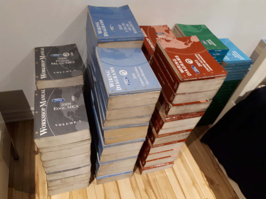 A vendre;Brochures / Pamphlets de vente de concessionnaires 1962 à 2020 20200310