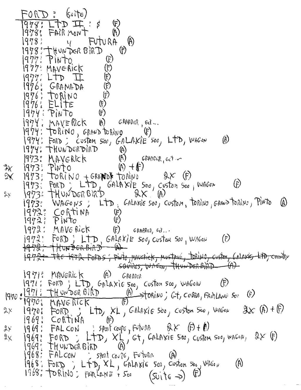 A vendre;Brochures / Pamphlets de vente de concessionnaires 1962 à 2020 Scan-710