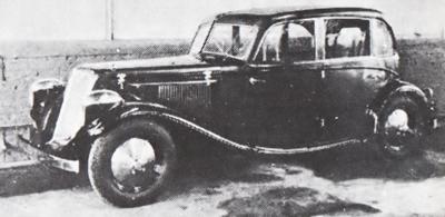Citroën PROTOTYPE DE TRACTION 1934 QUI N'A JAMAIS VU LE JOUR Budd1910