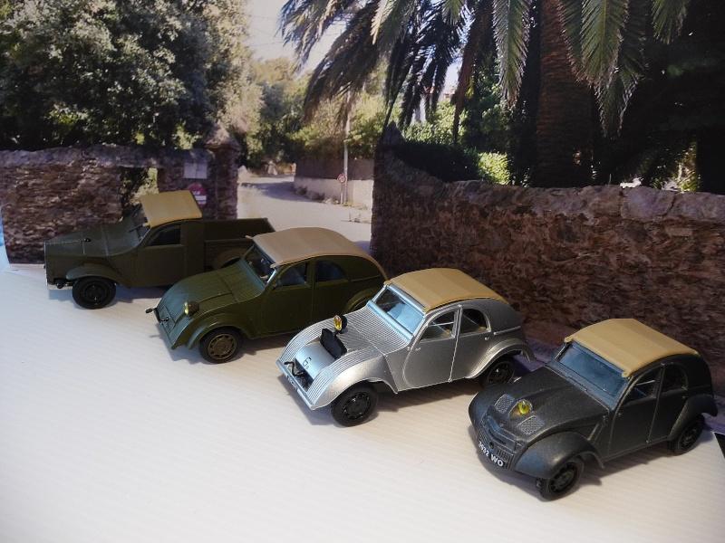 NOREV - les 4 prototypes de TPV CITROËN 2 cv   P1020924