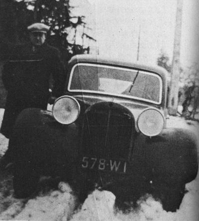 Citroën PROTOTYPE DE TRACTION 1934 QUI N'A JAMAIS VU LE JOUR Ta07tr10