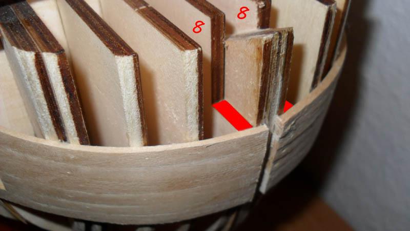 Wilfried's Baubericht zur Victory aus Holz und anderem Kram Bepl0710