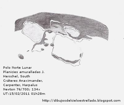 Polo Norte Lunar- Planicie amurallada J. Herschel 15/02/2011 Jhersc10