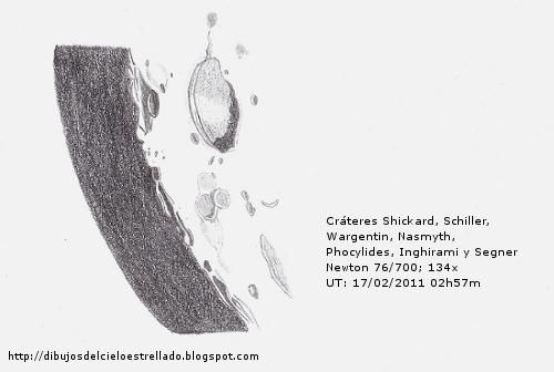 Cráteres Wargentin, Shickard y Schiller. 17/02/2011 Wargen10