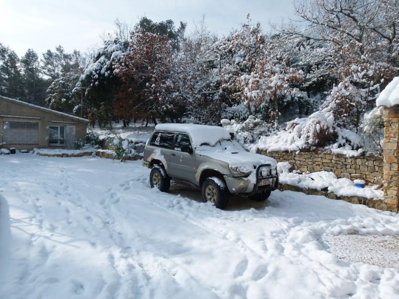 neige dans le var  P1100310