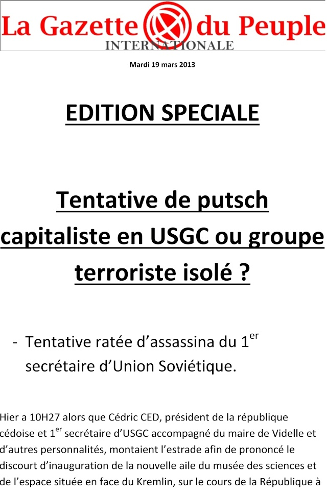 La Gazette du Peuple Internationale - Édition N°11 Elections Municipales (page 11) - Page 6 0113
