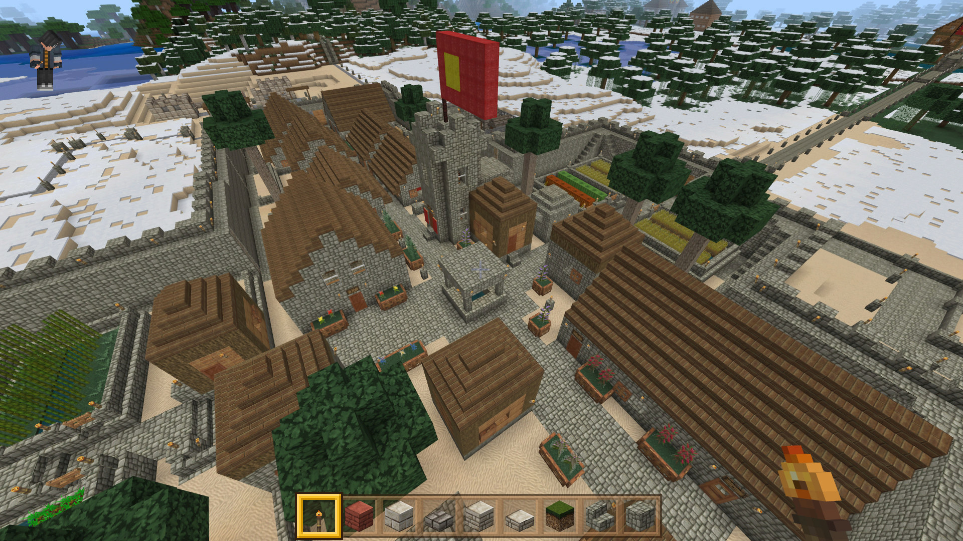 [Minecraft] Région centrale du Royaume d'Eboniya 31-08-15