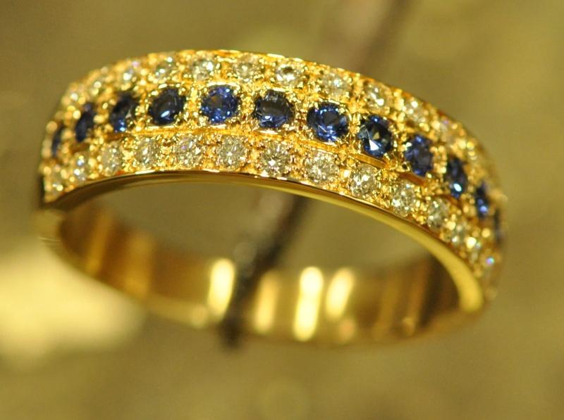 Bague saphirs diamants Dsc_0210