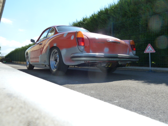 denis du bas rhin et sa Karmann Ghia de 73 sortie de grange - Page 14 P1110618