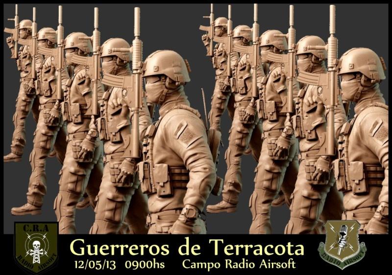 """Partida abierta """"GUERREROS DE TERRACOTA"""" Domingo 12 de Mayo a las 0900hs Organiza R.A Terran12"""