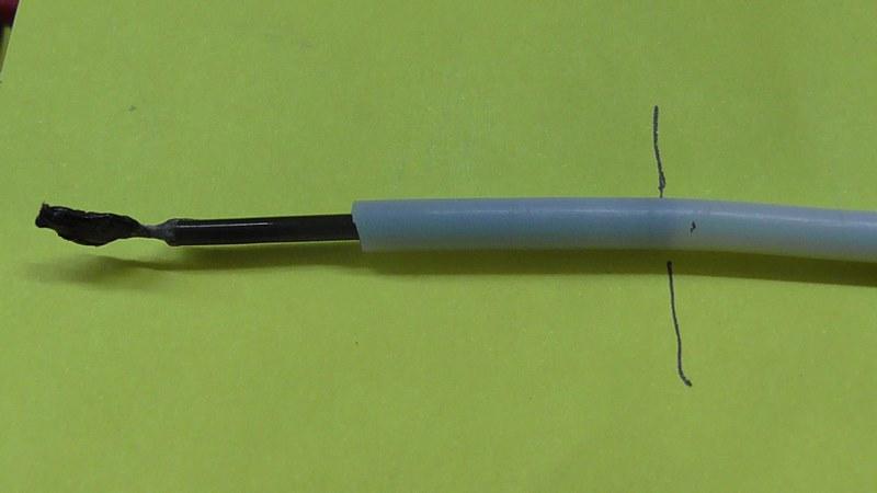 alfawise U20, le PLA fond dans le téflon S1920010