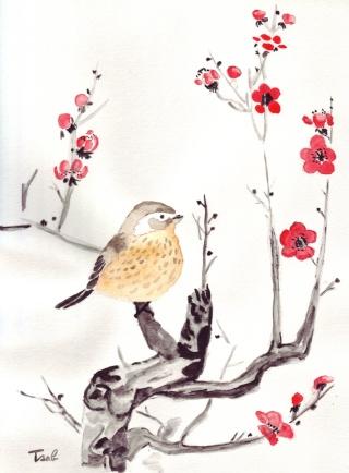 Mes premières aquarelles, par Isabelle. - Page 2 Sur_la10