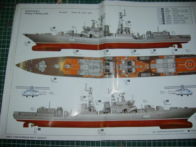 BPK type Udaloy trumpeter 1/350 Amiral Panteleyev S6001110