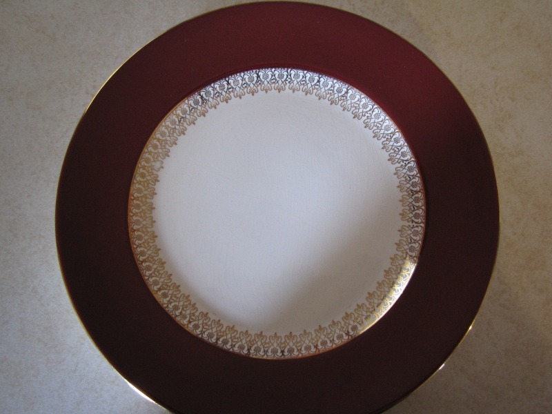 Can anyone tell me the name of this fine regal looking pattern? ~ includes Regency Crownl12