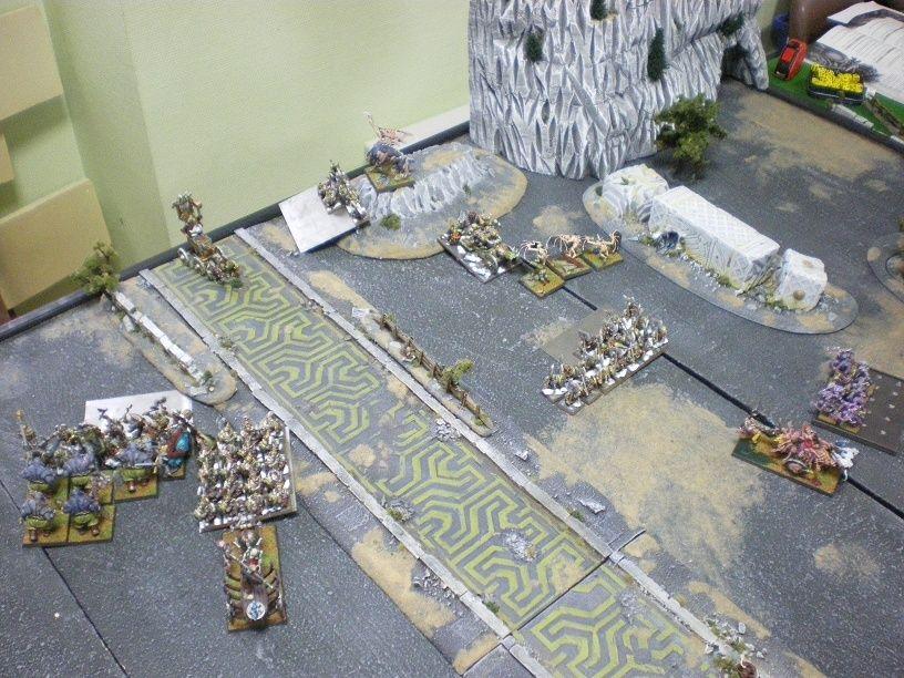 [2000 pts] Le Raid sur Karak Stromril- Vlad attaque une forteresse naine Charge12