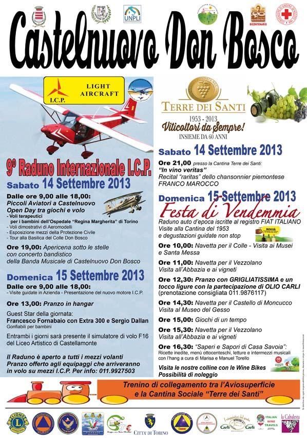14 – 15 September 2013 Aviosupericie Castelnuovo Don Bosco Icp_ca10