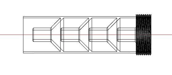 Silencieux impression 3D pour WH 77K / 97K Discre12
