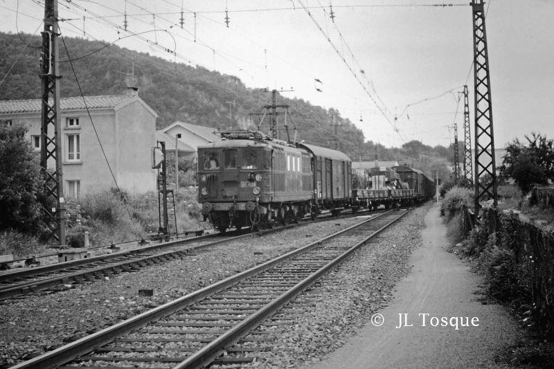 Gare de Foix ancien cliché / Recherche du lieu de  cette photo Bb-41011