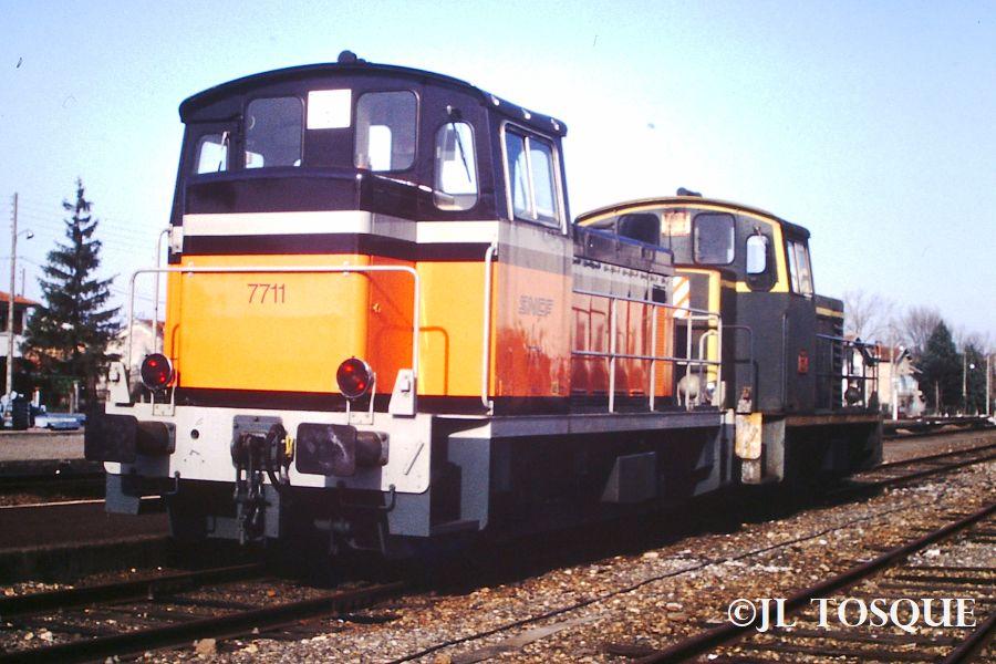 Y7400 : Locotracteur ancien Y-740014