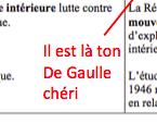 Ferrand, Beylau, Zemmour, Domenach, Sotto et l'UMP : haro sur les allègements du programme d'histoire. - Page 19 Degaul10