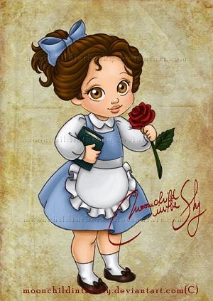 Les Disney Princesses (+ Elsa et Anna) [Topic Unique] Belle10