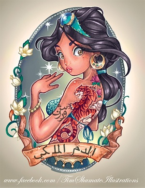 Les Disney Princesses (+ Elsa et Anna) [Topic Unique] Jasmin10